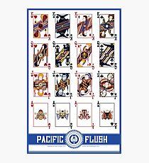 Pacific Flush - Blue Photographic Print