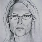 Self portrait by Carole Russell