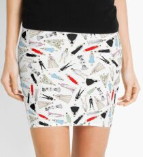 Outfits of Audrey Fashion Mini Skirt