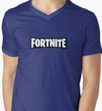 Fortnite Minimalist Logo Men's V-Neck T-Shirt