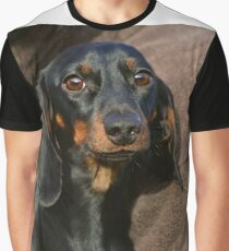 dachshund black and tan Graphic T-Shirt