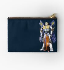 10th Doctor with Robot Phone booth Studio Pouch
