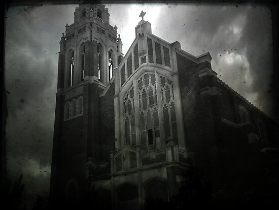 St Agnes Church III by Gregory James Wyrick