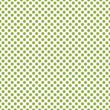 Kiwi Fruit Pattern Green Black Brown by ValeriesGallery