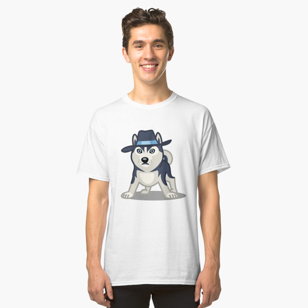 Funny Siberian Husky - Dog Gifts for Husky Dog Lovers Classic T-Shirt