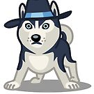 Funny Siberian Husky - Dog Gifts for Husky Dog Lovers by Banshee-Apps