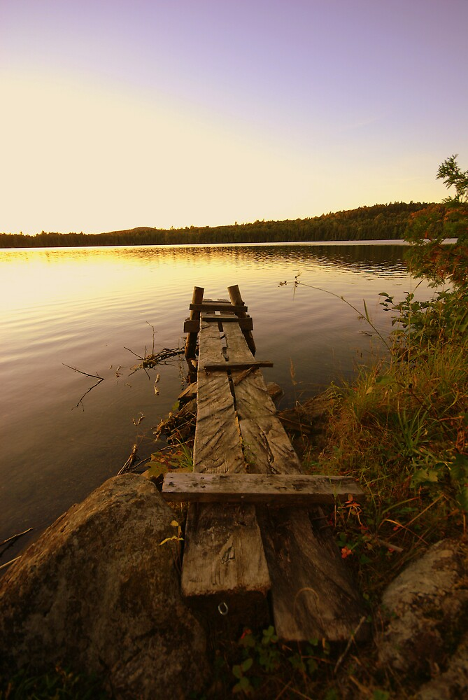 Man Made Dock by jpooler