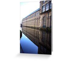 Salts Mill (2) Greeting Card