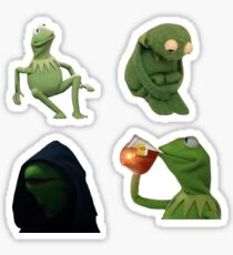 Kermit Sticker Bundle Sticker