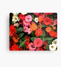 """""""Flowers 1""""  Metal Print"""