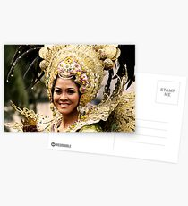 Sinulog 2009 Festival Queen Postcards