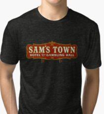 Sam's Town Hotel & Gambling Hall, Las Vegas, NV Tri-blend T-Shirt