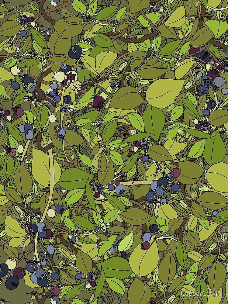 Blueberry Bush by CopperCatkin