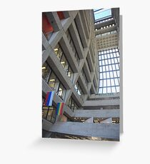 Wilson Hall at Fermilab -  Interior Greeting Card