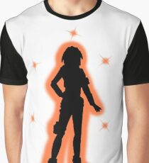 Sasha Tales From The Borderlands Silhouette  Graphic T-Shirt