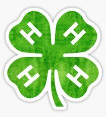 4H Clover Sticker