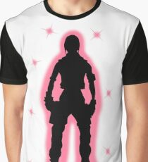 Janey  'Springs' Tales From The Borderlands Silhouette  Graphic T-Shirt