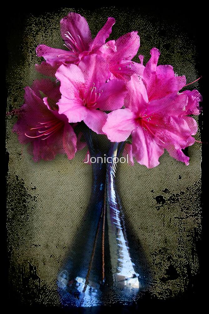 Vase of Azaleas by Jonicool