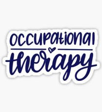 Occupational Therapy Sticker