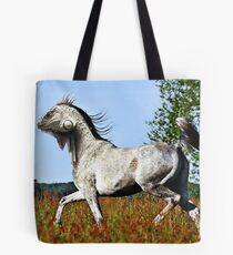 Mixing a horse and a lizard Tote Bag