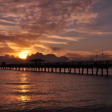 Sunrise in Fort Lauderdale, As Is by fotokmcc