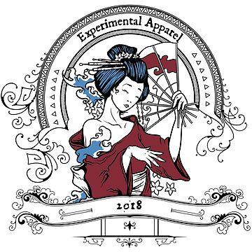 Geisha -- Experimental Apparel 2018 by ExpApparel