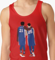 Ben Simmons and Joel Embiid Men's Tank Top