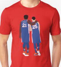 Camiseta unisex Ben Simmons y Joel Embiid
