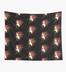 Girl in corset Wall Tapestry