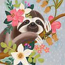 Cute Sloth by Olivia Gibbs