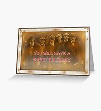 Peaky Blinders Birthday Card / Gift Greeting Card