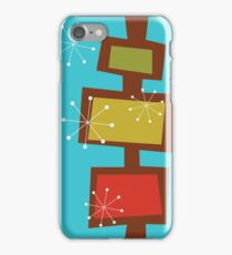Mid Century Modern  iPhone Case/Skin