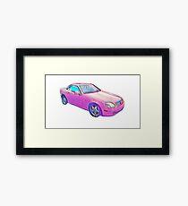 Barbie Dream Car Framed Print