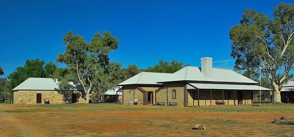 Alice Springs Telegraph Station by Penny Smith