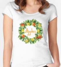 Ripe apples Women's Fitted Scoop T-Shirt