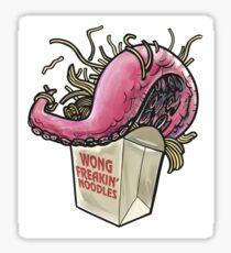 Wong Freakin' Noodles Sticker