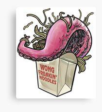 Wong Freakin' Noodles Canvas Print