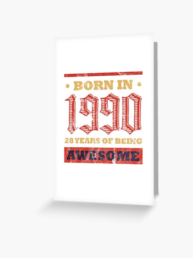 28 Year Old Birthday Gift