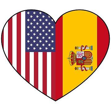 USA & Spain by schembri211