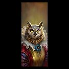 Lady Owl, The Court Сounsellor by Ldarro