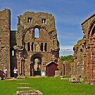 Lindisfarne Abbey - HOLY ISLAND by tonymm6491