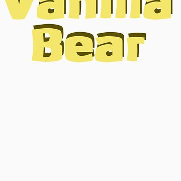 Scrubs Vanilla Bear by drama19