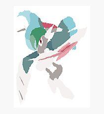 Rhys' Mega Gallade (No outline) Photographic Print