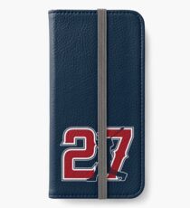 27 - Millville Meteor (original on blue) iPhone Wallet/Case/Skin