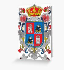Coat of arms of Campeche (State), Mexico Greeting Card