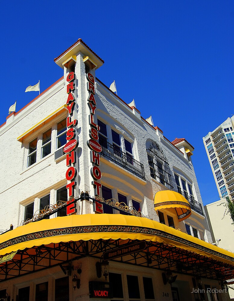 historic hotel, St. Pete by Bob Moore