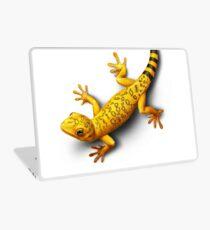 Yellow Gecko bringing Success Laptop Skin