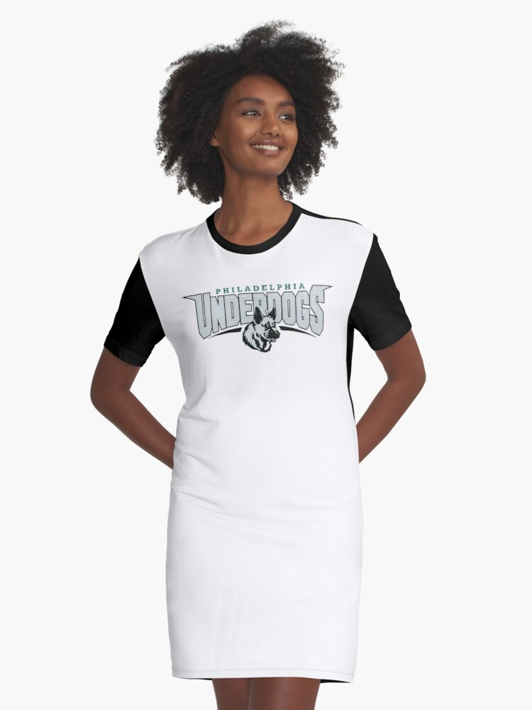 sports shoes 3d1cc 72939 'Philadelphia Eagles Underdogs' Graphic T-Shirt Dress by RobinHood960