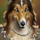 Collie, The Court Favorite Lady Dog by Ldarro