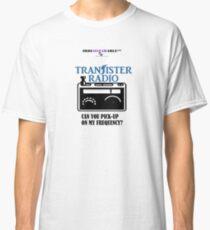 Camiseta clásica TRANSISTER Radiofrecuencia